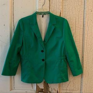 Green Tahari blazer Size Large